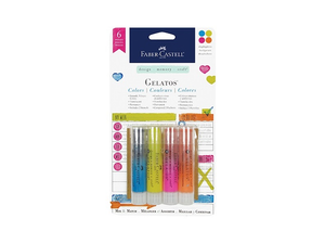 Faber Castell Gelatos Colors - Highlighters