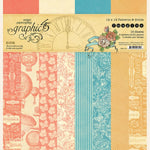 Graphic 45 Imagine Collection Patterns and Solids Paper Pad