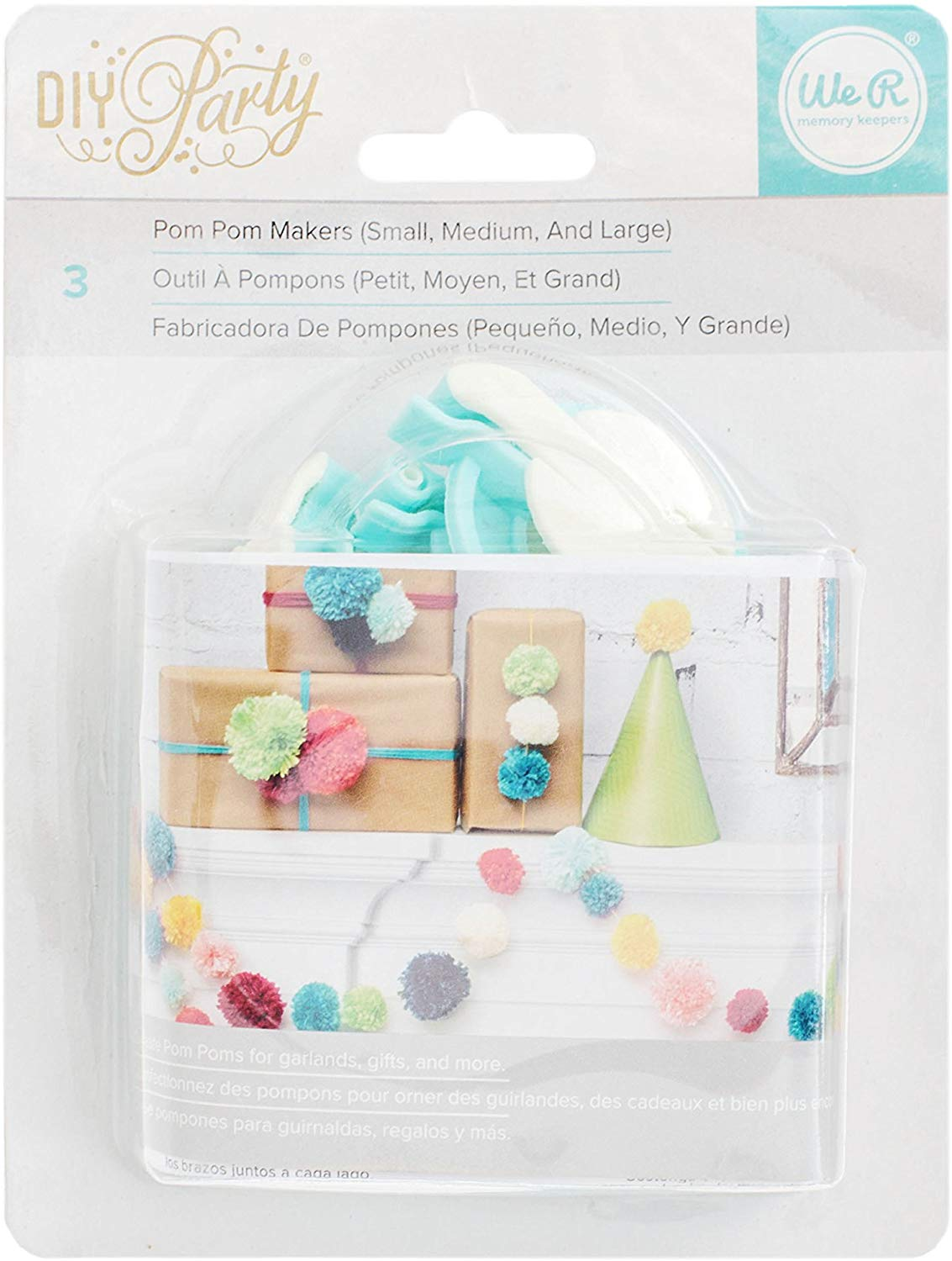 We R Memory Keepers - DIY Party Collection - Pom Pom Maker