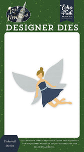 Echo Park - Lost in Neverland Collection - Designer Dies - Tinkerbell