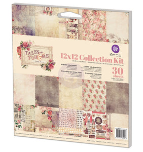 Prima - Tales of You and Me Collection Kit 12 x 12 Paper Pad