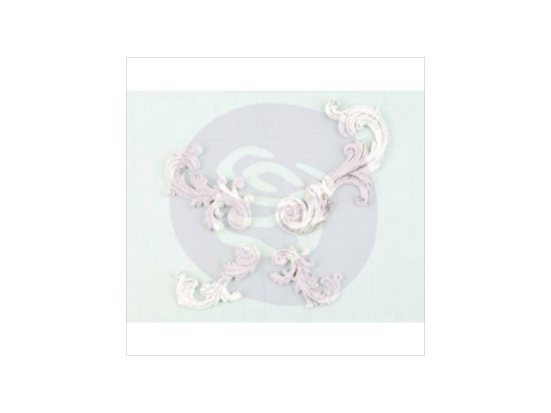 Prima Shabby Chic Resin Swirls