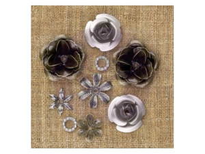 Prima Vintage Mechanicals - Trinket Flowers