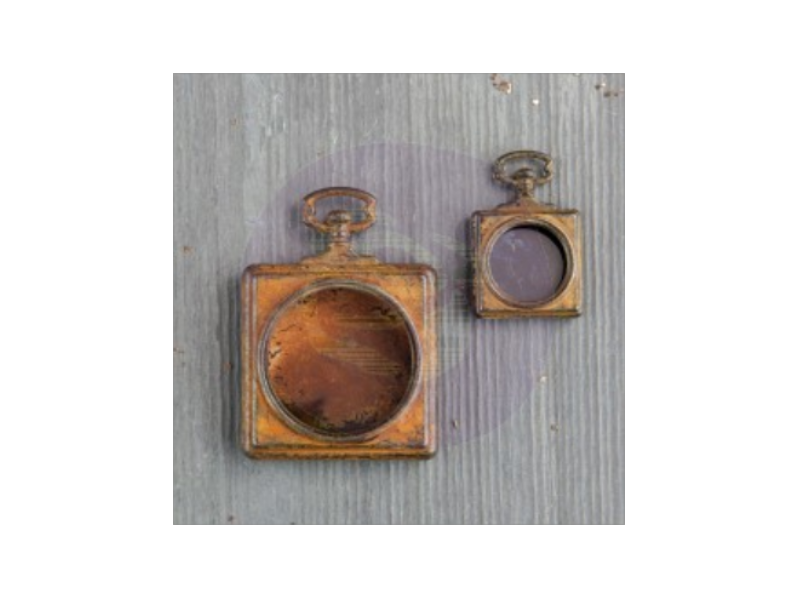 Prima Finnabair Mechanicals: Pocket Watches 2pc.