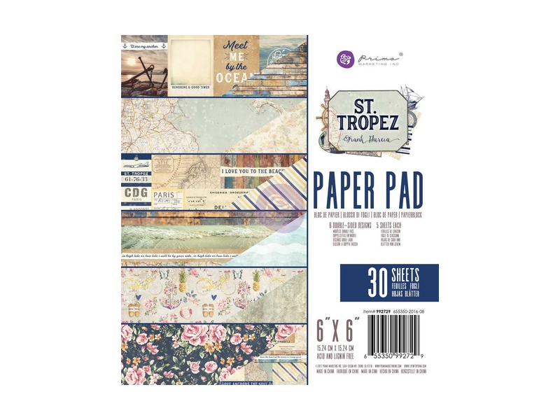 Prima Frank Garcia St Topez Collection Paper Pads