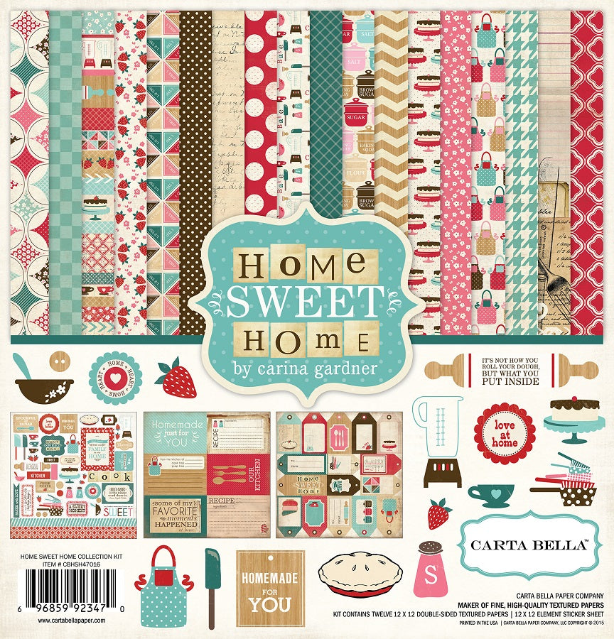 Carta Bella Home Sweet Home Collection Kit
