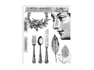 Stampers Anonymous Tim Holtz Cling Mount Stamps: Daydream