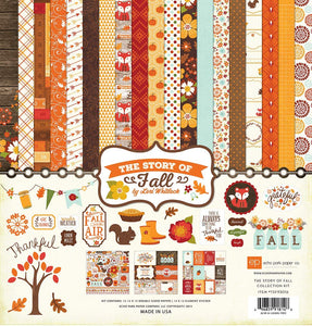 Echo Park The Story of Fall Collection Kit