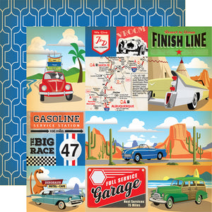 Carta Bella Cartopia Collection 12 x 12 Cardstock