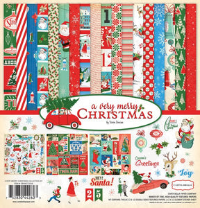 Carta Bella A Very Merry Christmas Collection Kit