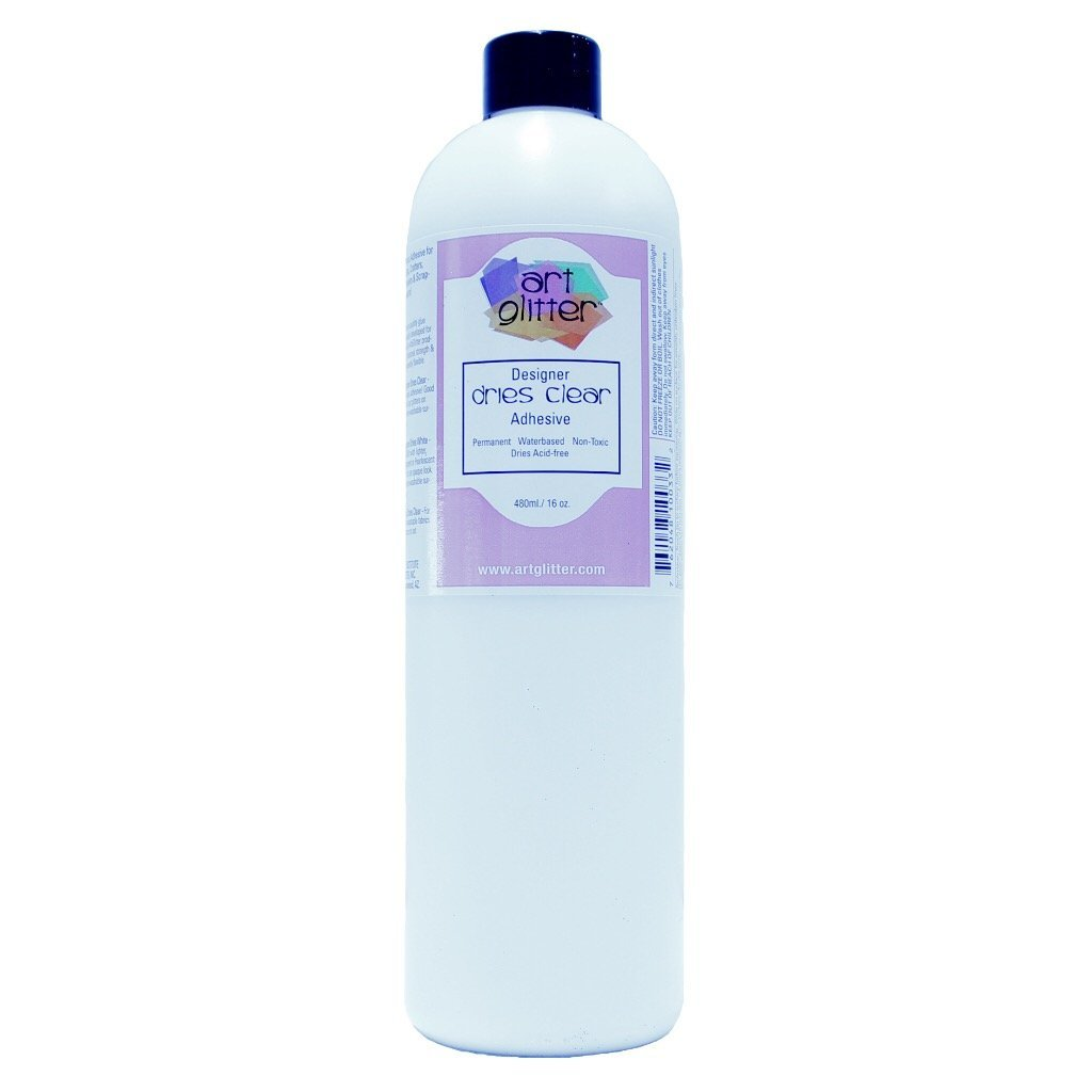 Art Glitter Adhesive Dries Clear