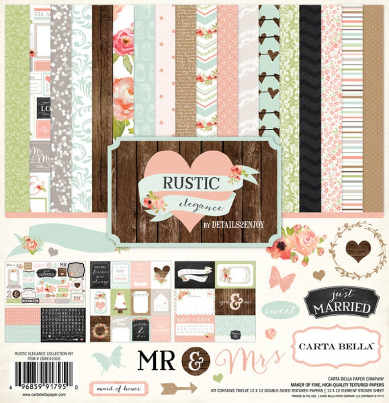 Echo Park Rustic Elegance Collection Kit