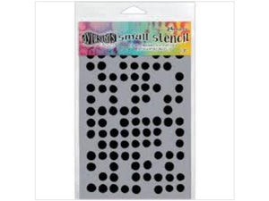 Dylusions Stencils Fresh Dots Small
