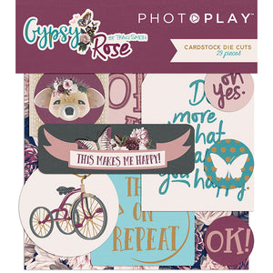 Photo Play Gypsy Rose Collection Ephemera Package
