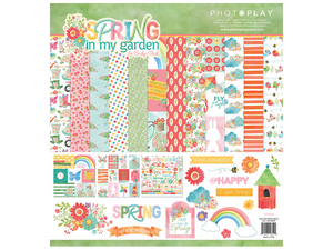 "Photo Play ""Spring in My Garden"" 12 x 12 Collection Kit"