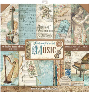 Stamperia Music Collection 12 x 12 Collection Kit