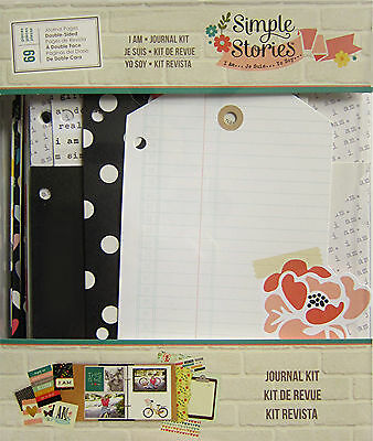 Simple Stories I Am Journal Kit