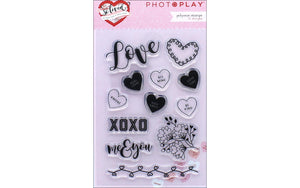 Photo Play So Loved Collection Cling Stamp Set