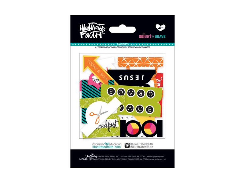 Bella Blvd Illustrated Faith Collection Die Cut Prompts