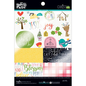 Illustrated Faith Christmas ClearCuts Pad