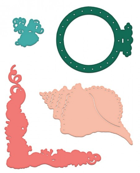 Heartfelt Creations Coral Reef Collage Die Set