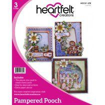 Heartfelt Creations Pampered Pooch Collections Card Kit
