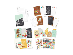 Simple Stories Carpe Diem Recipe Planner Inserts A5 Set