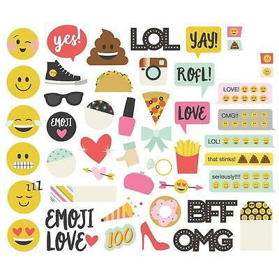 Simple Stories Emoji Love Collection Bits and Pieces