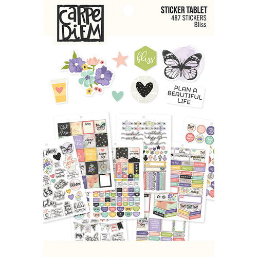 Simple Stories Carpe Diem - Bliss Sticker Tablet