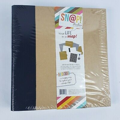 Simple Stories Snap Album, 6 by 8-Inch