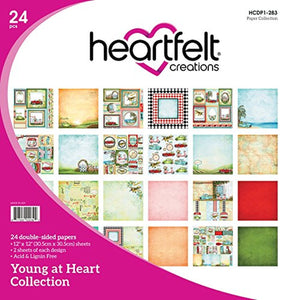 Heartfelt Creations Young at Heart Collection Paper Pad