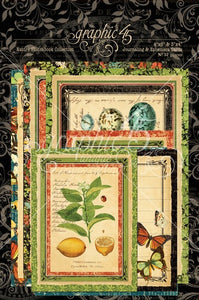 Graphic 45 Nature Sketchbook Collection Ephemera Pack