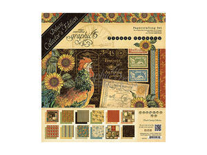 Graphic 45 French Country Deluxe Collector's Edition Kit