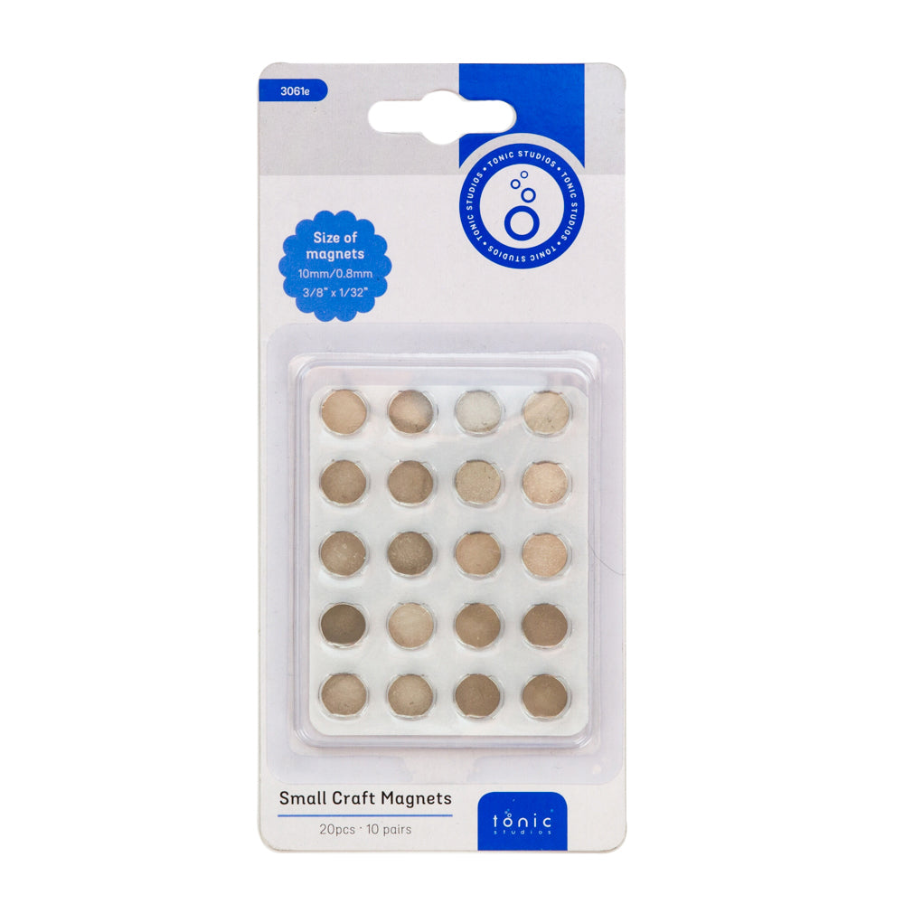 Tonic Studios - Craft Magnets - 10mm - 10 Pack