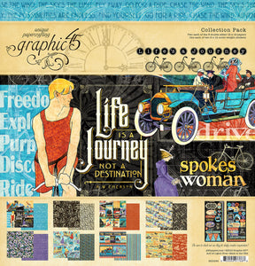 Graphic 45 Life's Journey  12 x 12 Collection Kit