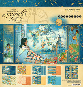 Graphic 45 Dreamland Collection 12 x 12 Collection Kit