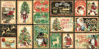 Graphic 45 Christmas Time Collection Ephemera Pack
