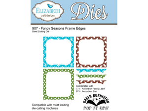Elizabeth Craft Designs Karen Burniston Fancy Seasons Frame Edges