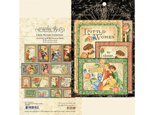 Graphic 45 Little Women Collection Ephemera Package