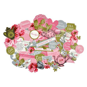 "Kaisercraft - ""High Tea"" Collection - Collectables - Die Cut Card Stock Pieces"