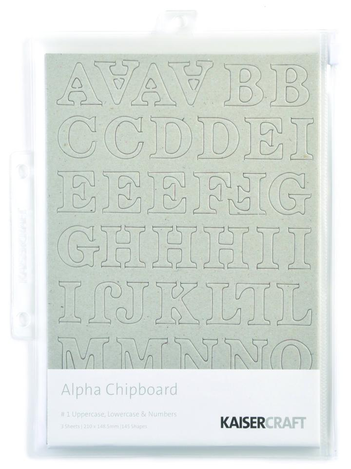 Kaisercraft Alpha Chipboard