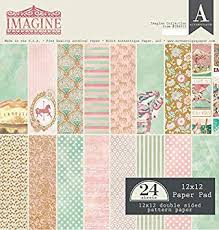 Authentique Imagine Collection 12x12 Paper Pad