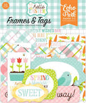 Echo Park Hello Easter Collection Frames & Tags