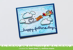 Lawn Fawn Father's Day Border Lawn Cuts