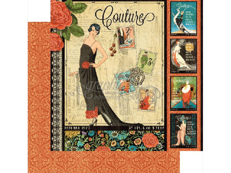 Graphic 45 Couture Collection Cardstock