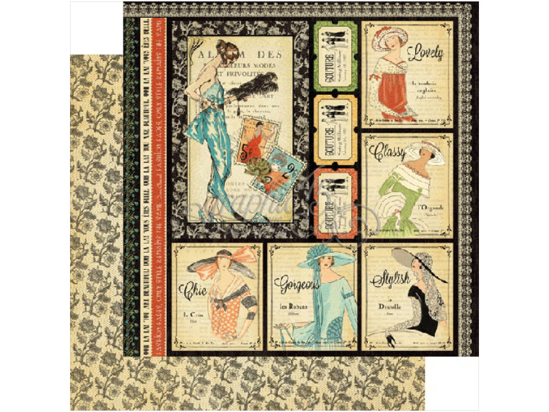 Graphic-45-Couture-Collection-Cardstock thumbnail 2