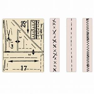 Tim Holtz Alterations Sizzix Texture Fades Embossing Folders