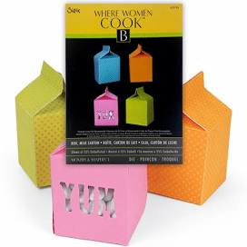 Sizzix Movers & Shapers L Die Box Milk Carton by Where Women Cook