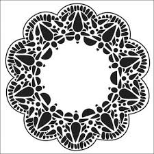 "Crafter's Workshop Templates 12"" X 12"" Deco Doily"