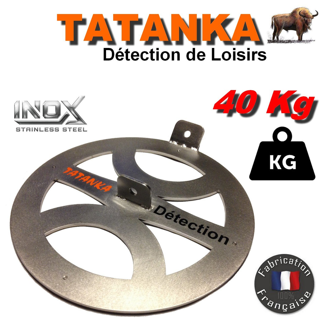 Disque inox aimanté double attache TATANKA